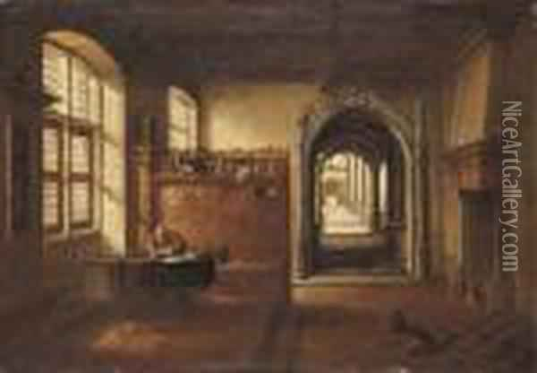 Saint Jerome In His Study Oil Painting - Hendrick van, the Younger Steenwyck