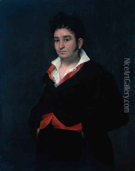 Don Ramón Satué (1765-1824), Alcade de Corte (judge of the fifth chamber of the council of Castile Oil Painting - Francisco De Goya y Lucientes