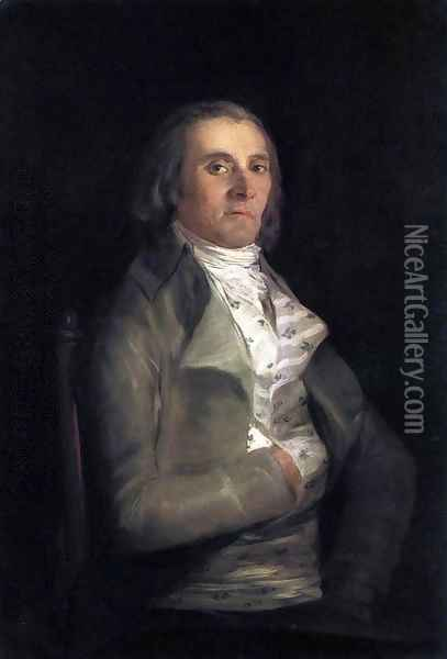 Portrait of Andrés del Peral Oil Painting - Francisco De Goya y Lucientes