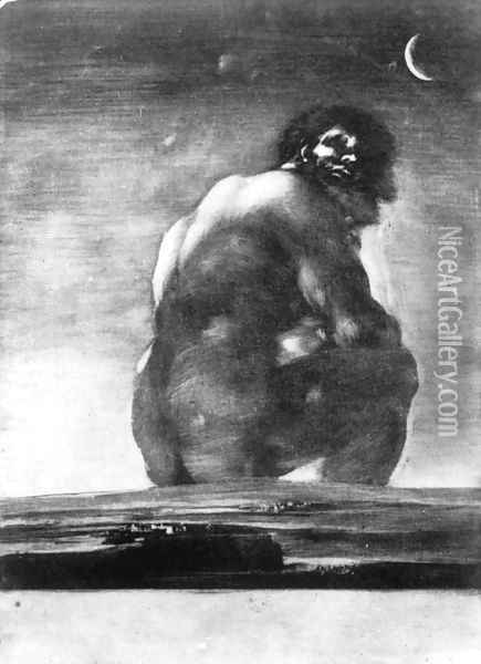 The Colossus 1 Oil Painting - Francisco De Goya y Lucientes