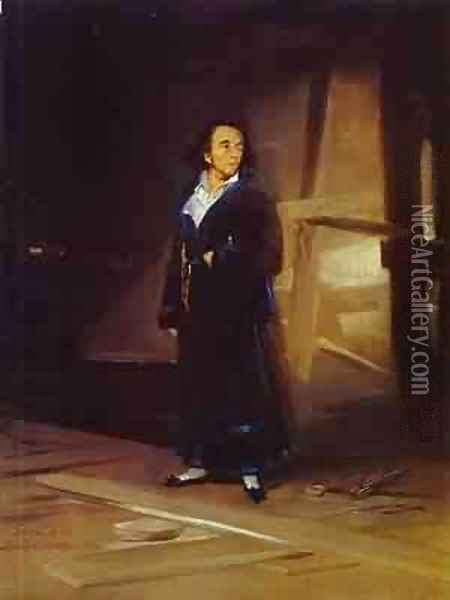 Portrait Of The Bullfighter Pedro Romero Oil Painting - Francisco De Goya y Lucientes