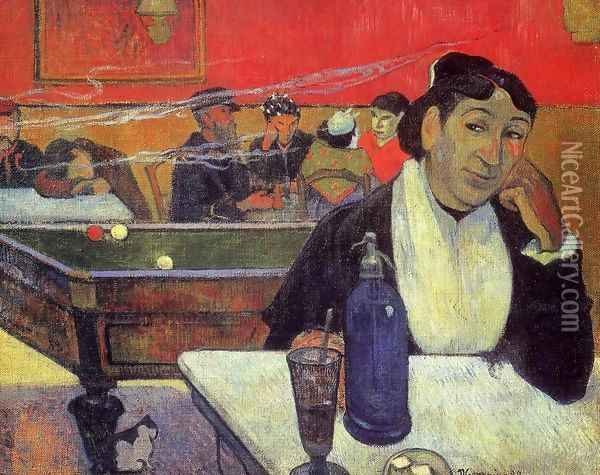 Night Cafe At Arles Oil Painting - Paul Gauguin