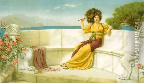 In the Prime of the Summer Time Oil Painting - John William Godward