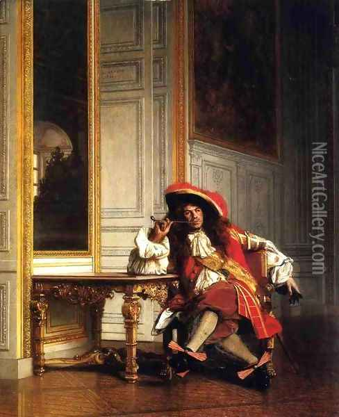Jean Bart Oil Painting - Jean-Leon Gerome
