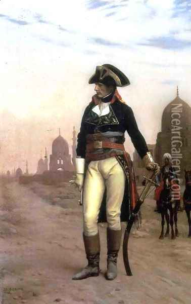 General Bonaparte in Cairo Oil Painting - Jean-Leon Gerome