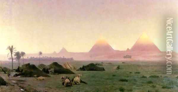 The First Kiss of Sunlight Oil Painting - Jean-Leon Gerome