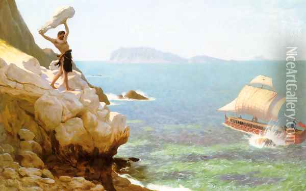 Polyphemus Oil Painting - Jean-Leon Gerome