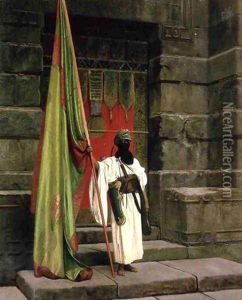 The Prophet's Standard Oil Painting - Jean-Leon Gerome