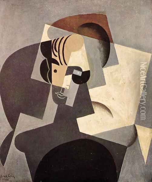 Portrait of Josette Oil Painting - Juan Gris