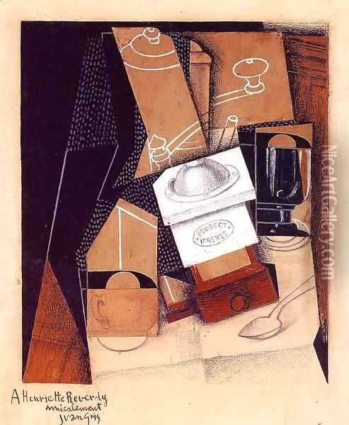 The Cloud 2 1921 Oil Painting - Juan Gris