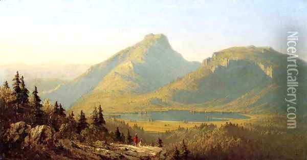 Mount Mansfield Oil Painting - Sanford Robinson Gifford