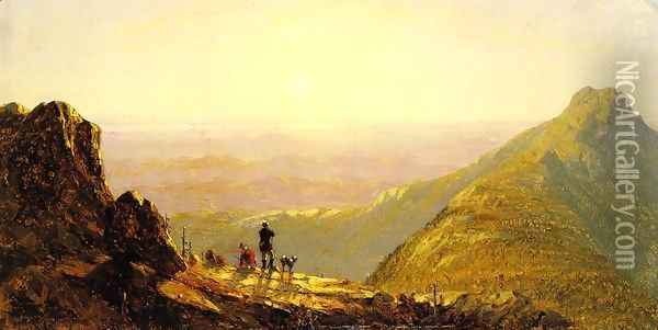 Mount Mansfield I Oil Painting - Sanford Robinson Gifford