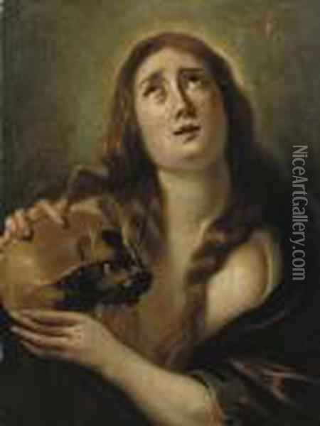 The Penitent Saint Mary Magdalene Oil Painting - Artus Wollfort