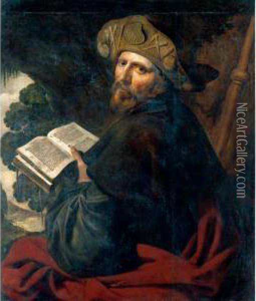 Saint James The Greater Oil Painting - Artus Wollfort