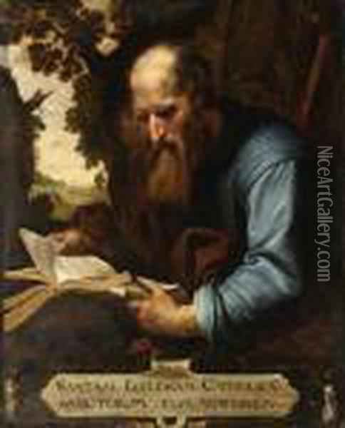 Saint James The Less Oil Painting - Artus Wollfort