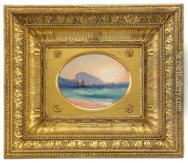 On The Sea By Ayu Dag Oil Painting - Ivan Konstantinovich Aivazovsky