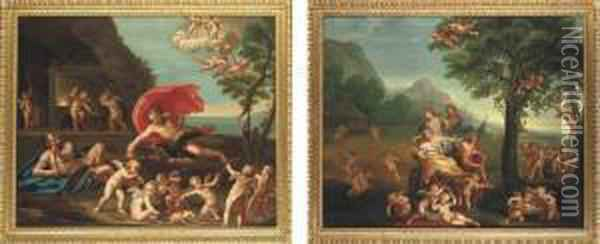 An Allegory Of Fire: Jupiter At 