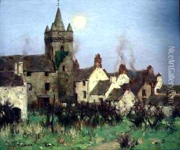 The Tolbooth Kircudbright Oil Painting - David Gauld