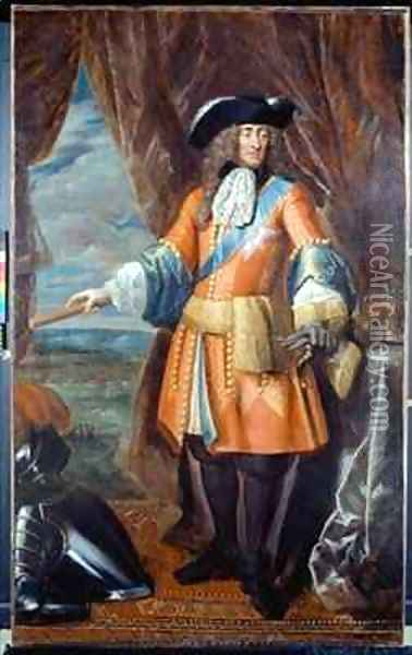 King James II 1633-1701 Oil Painting - Benedetto Gennari