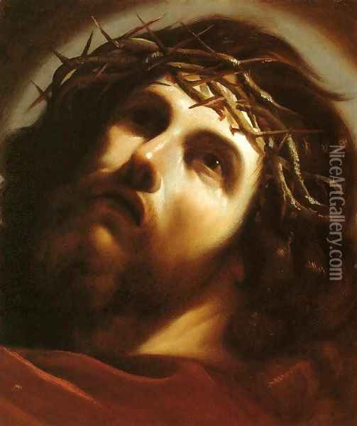 Christ Crowned with Thorns Oil Painting - Guercino