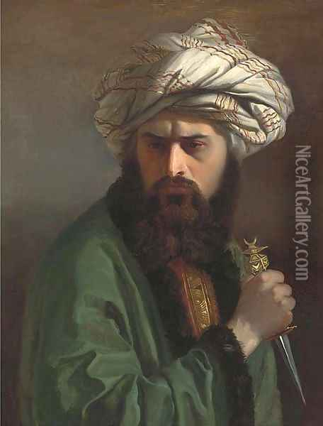 A Turkish assassin Oil Painting - Jean-Leon Gerome