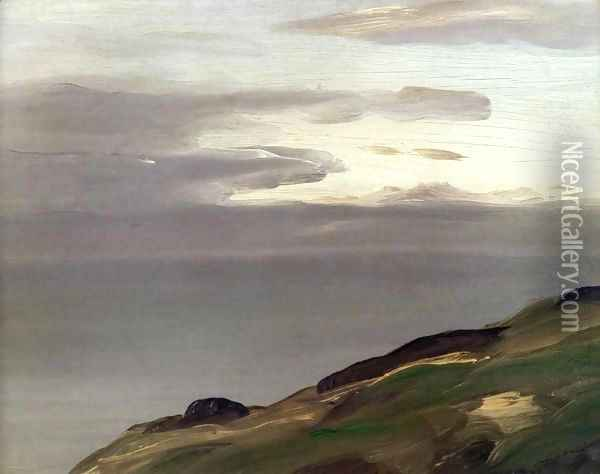 Monhegan Island Maine Oil Painting - Robert Henri