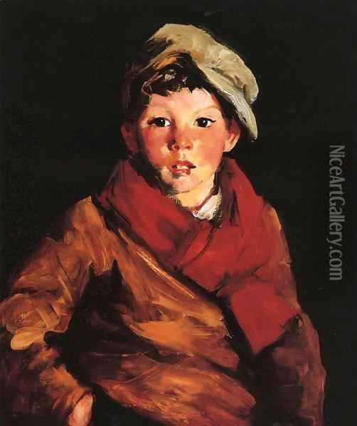 Cafferty Oil Painting - Robert Henri