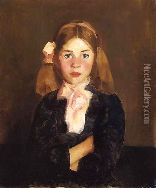 Nora Oil Painting - Robert Henri