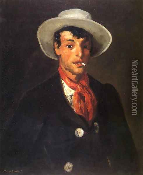 Gypsy With Cigarette Oil Painting - Robert Henri