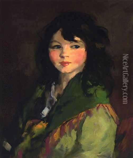 Francine Oil Painting - Robert Henri