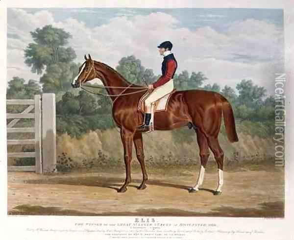 'Elis', the Winner of the Great St. Leger Stakes at Doncaster, 1836 Oil Painting - John Frederick Herring Snr