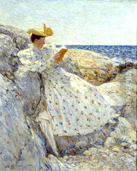 Isle of Shoals Oil Painting - Childe Hassam