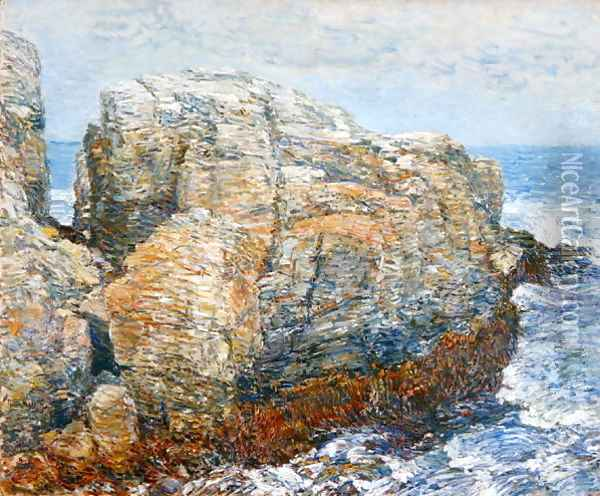 Sylph's Rock, 1907 Oil Painting - Childe Hassam