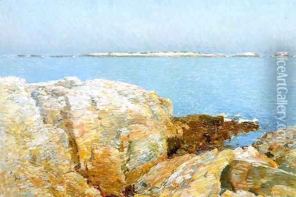 Duck Island Oil Painting - Childe Hassam