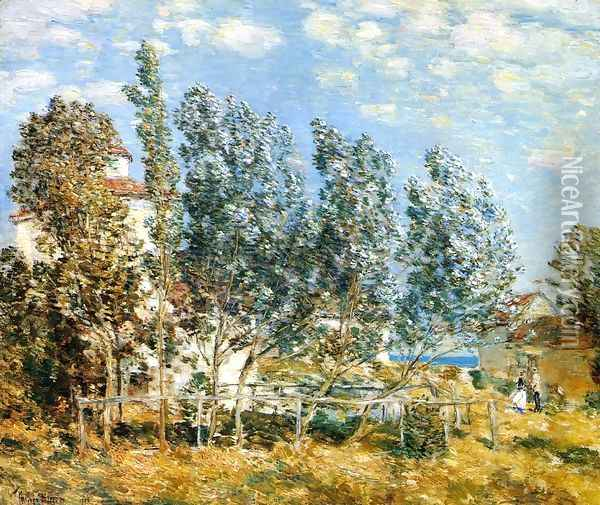 The Southwest Wind Oil Painting - Childe Hassam