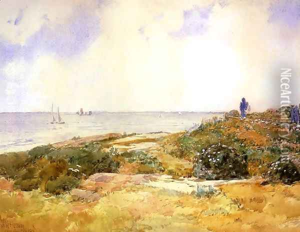 Isles of Shoals 1 Oil Painting - Childe Hassam