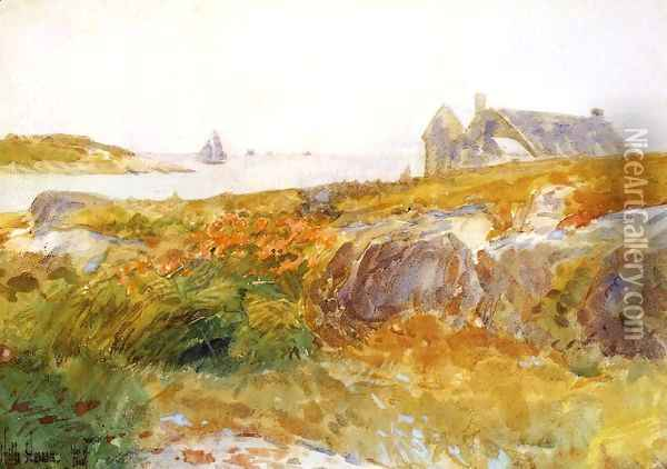 Isles of Shoals 3 Oil Painting - Childe Hassam