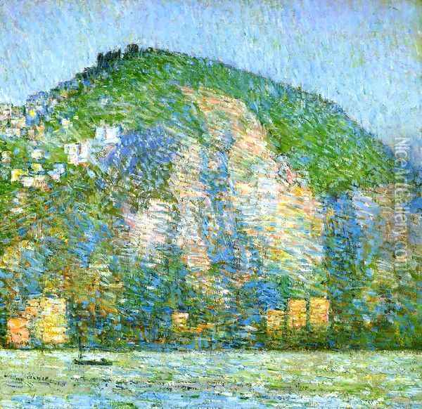 Telegraph Hill Oil Painting - Childe Hassam
