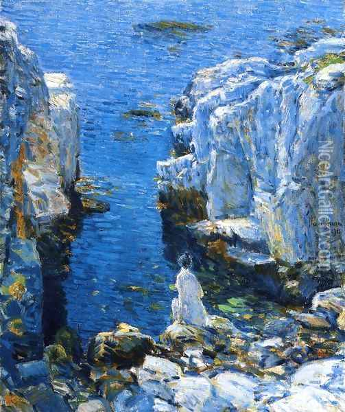 The Isles of Shoals Oil Painting - Childe Hassam