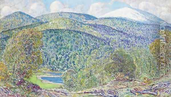 Spring in White Mountains Oil Painting - Childe Hassam