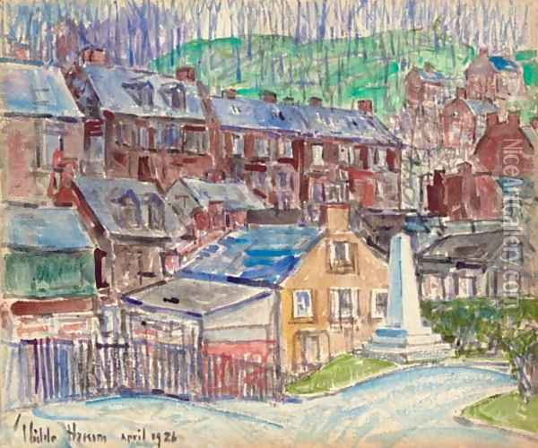 Harper's Ferry, 2nd Oil Painting - Childe Hassam