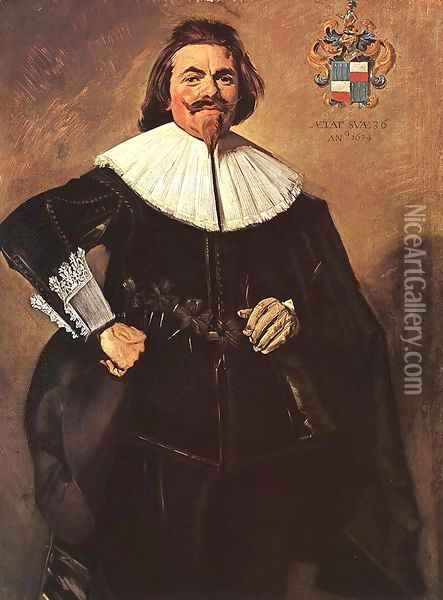 Tieleman Roosterman 1634 Oil Painting - Frans Hals