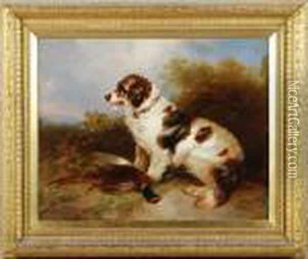 Retrieved Oil Painting - George Armfield