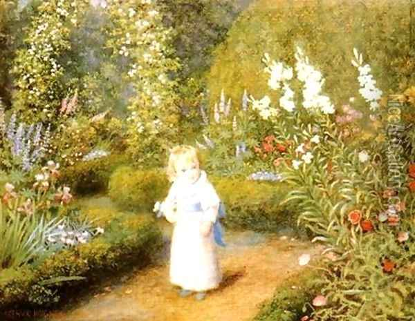 Wonderland (later version) Oil Painting - Arthur Hughes