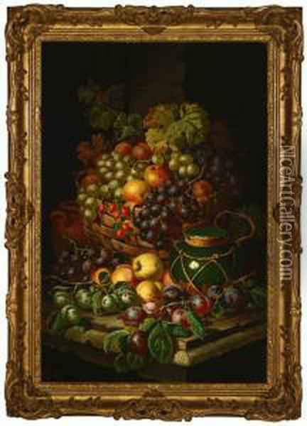 Still Life Oil Painting - Charles Thomas Bale