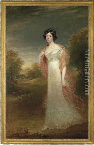 Portrait Of Ann Maria Harriet De