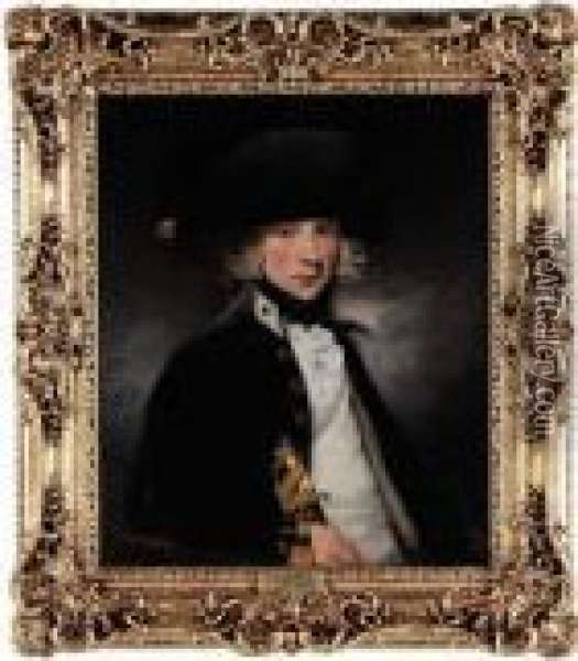 Portrait Of A Midshipman Oil Painting - Sir William Beechey