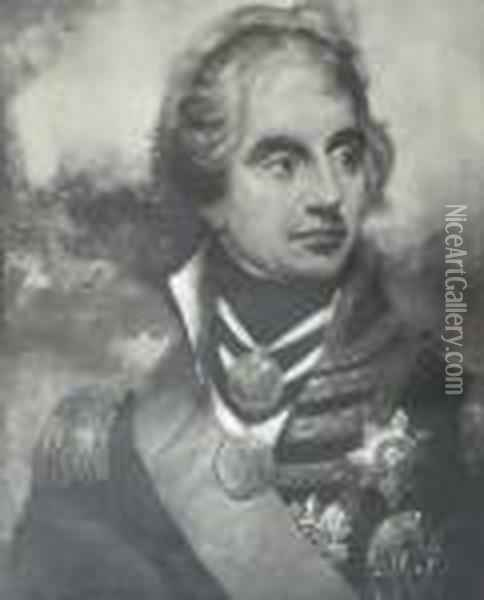 Vice Admiral Viscount Nelson Kb Oil Painting - Sir William Beechey
