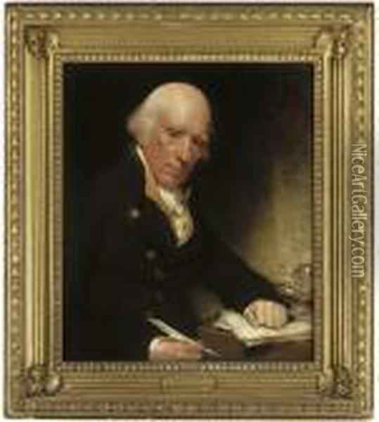 Portrait Of Warren Hastings, 