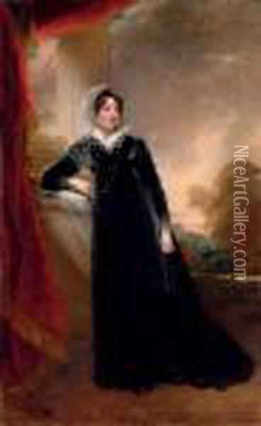 Portrait Of Mrs. Calverley 